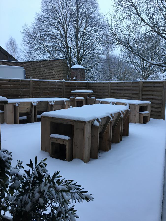 Winter terrace hotel verviers