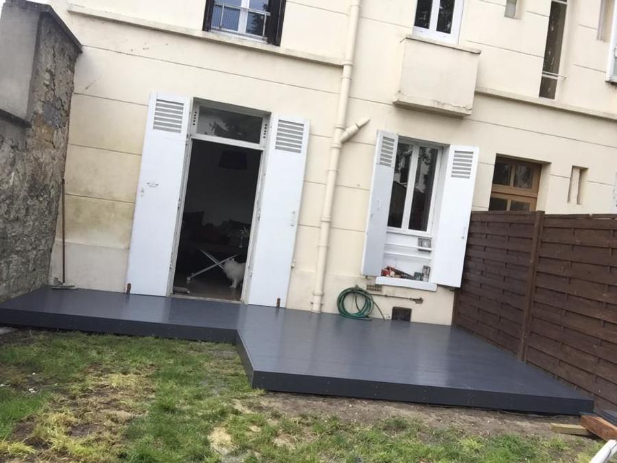 Terrasse bois val d'oise