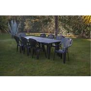 Table salon de jardin plastique 10 personnes - Mailleraye.fr ...