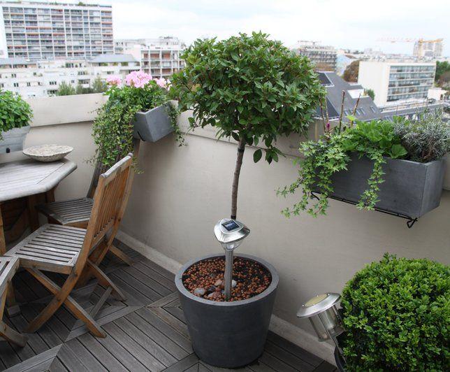 Terrasse et balcon d'appartement