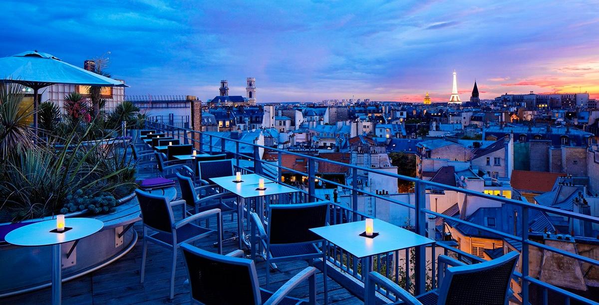 Bar terrasse paris toit