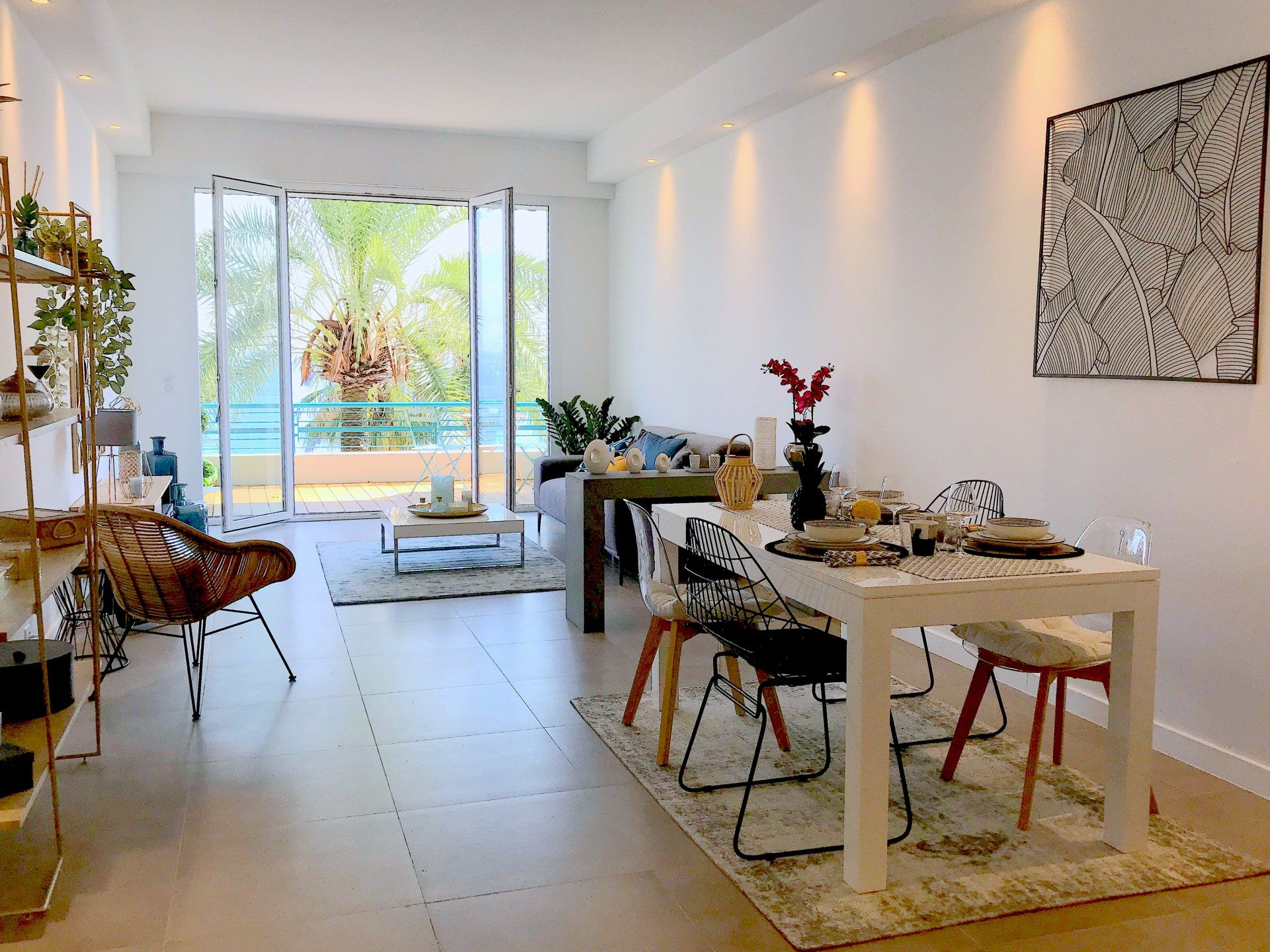 Appartement terrasse anglais