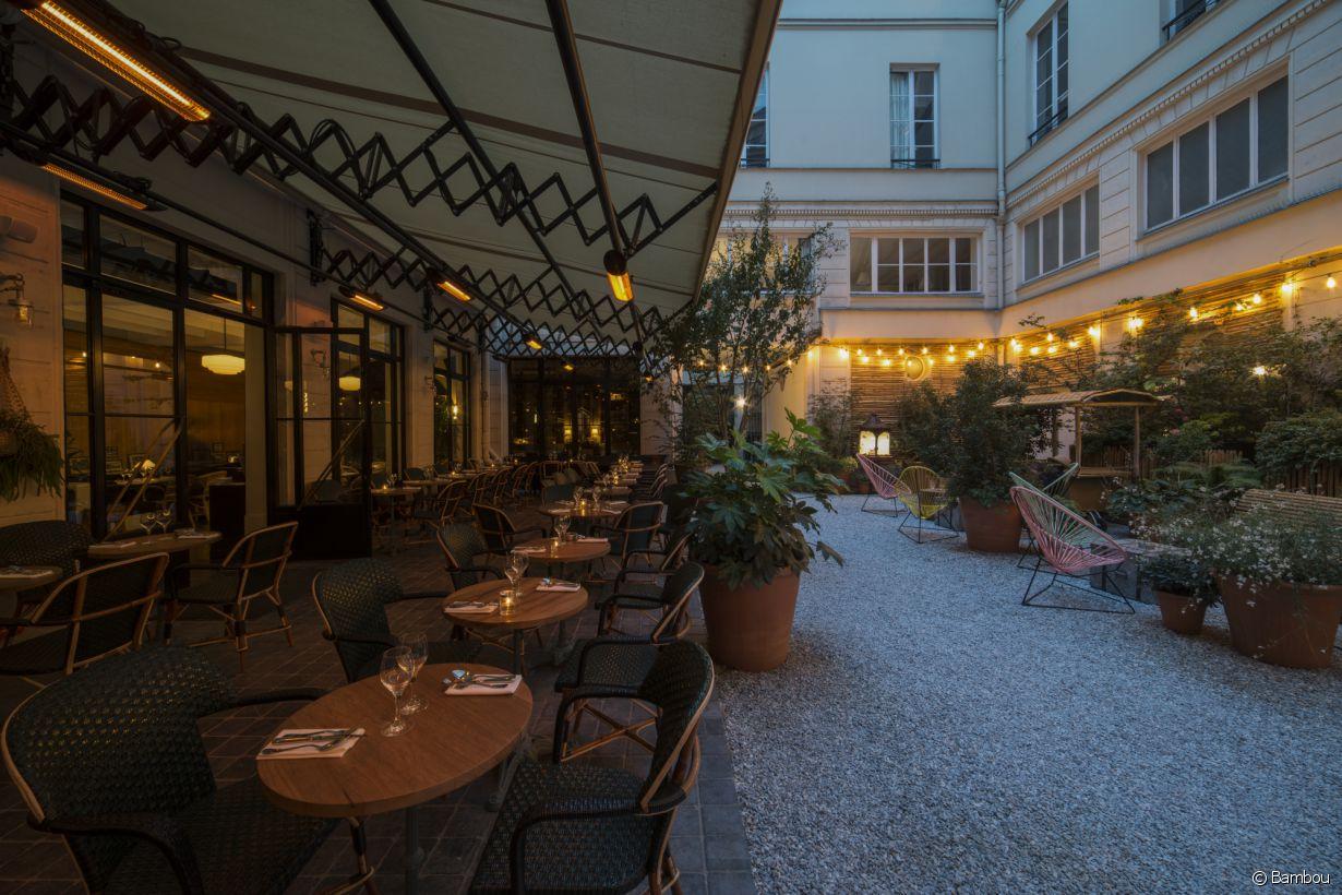 Restaurant terrasse paris 16eme