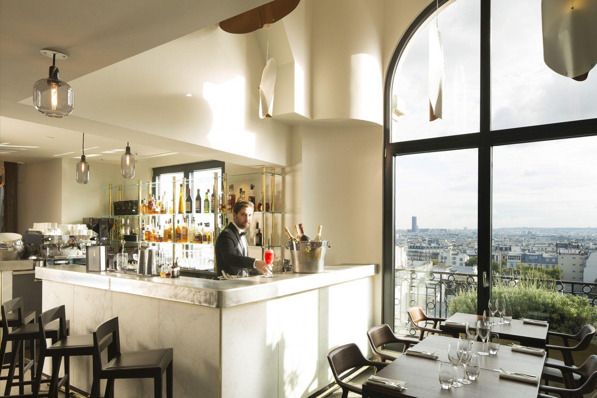 Terrasse hotel menu