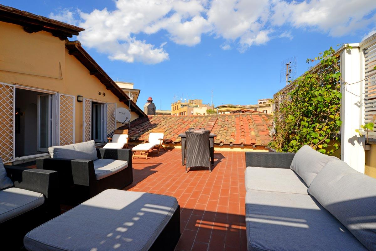 Appartement terrasse rome