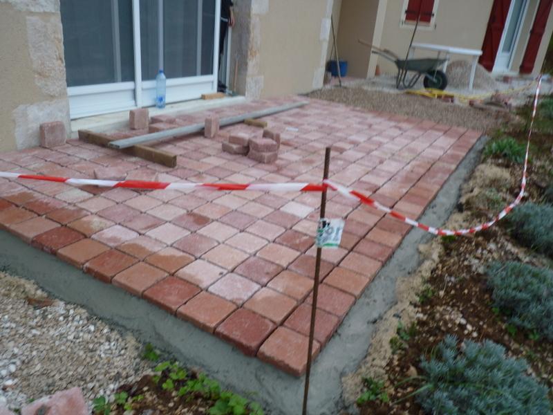 Terrasse Dalle Beton Sur Lit De Sable Mailleraye Fr Jardin