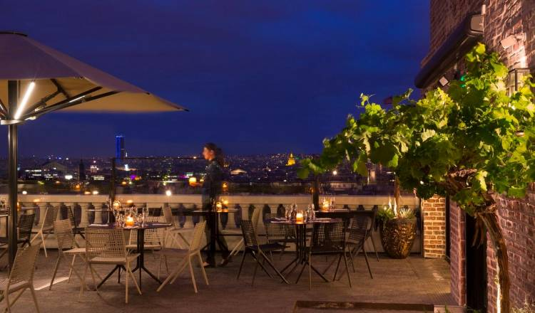 The terrasse hotel paris