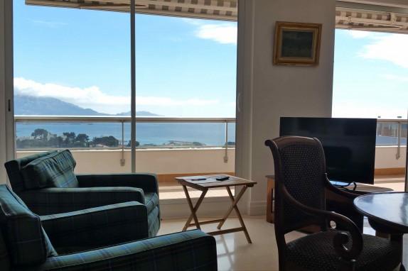 Appartement terrasse vue mer marseille
