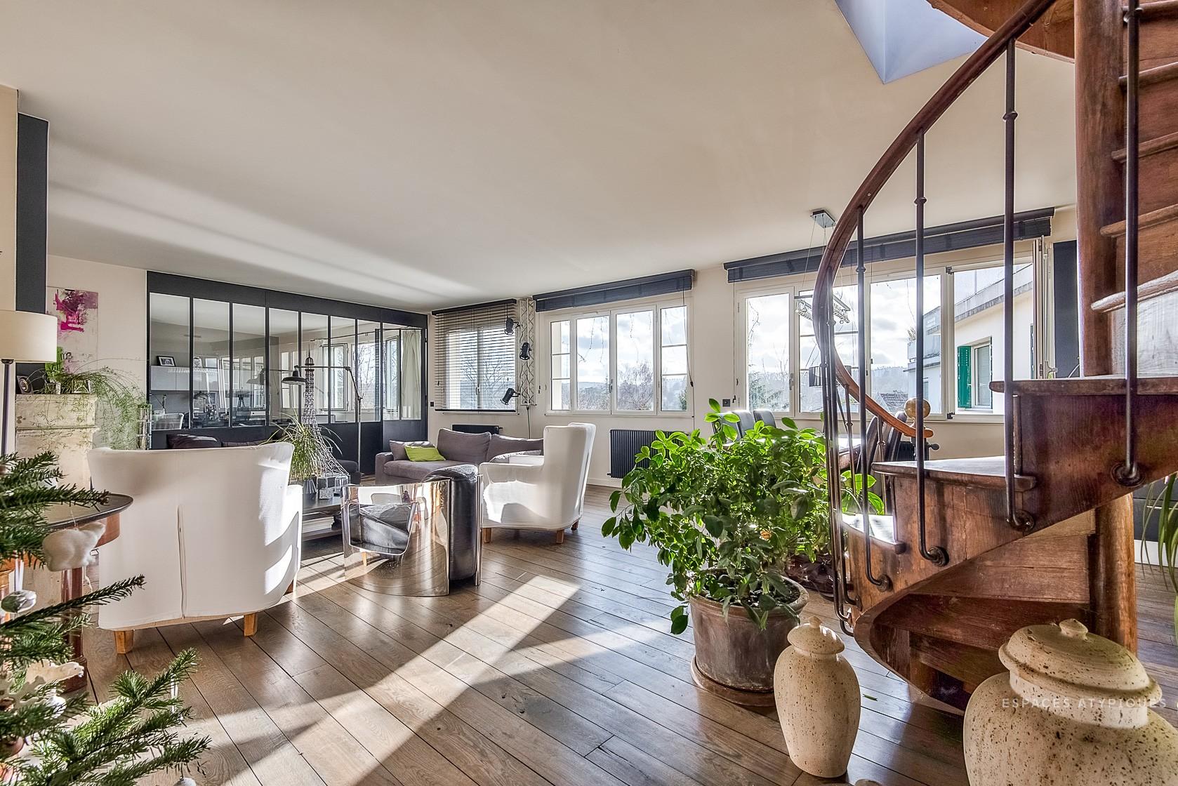 Appartement avec terrasse vue paris
