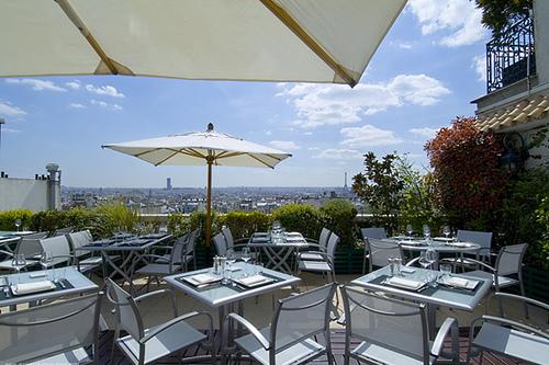 Terrasse restaurant paris montmartre