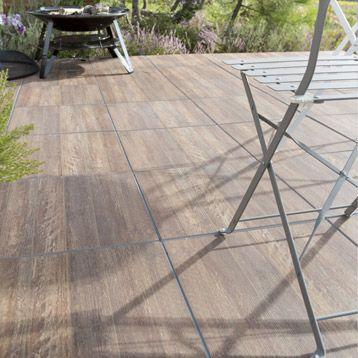 Carrelage terrasse grès cérame pleine masse