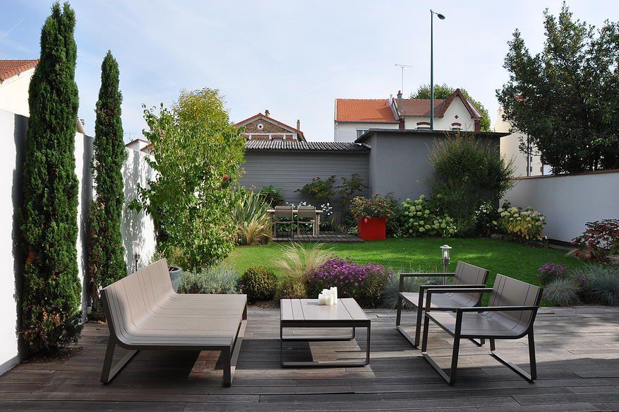 Terrasse et jardin paris 13