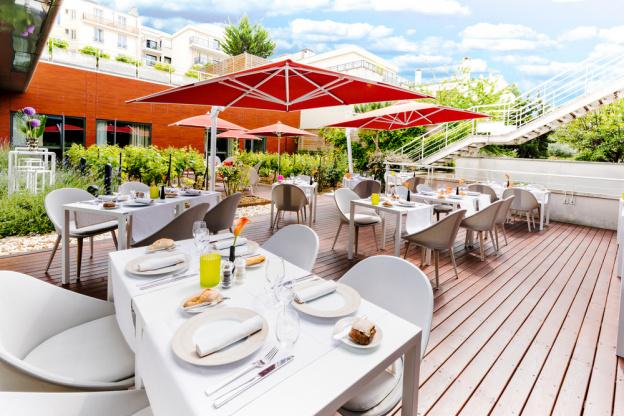 Terrasse hotel boulogne billancourt