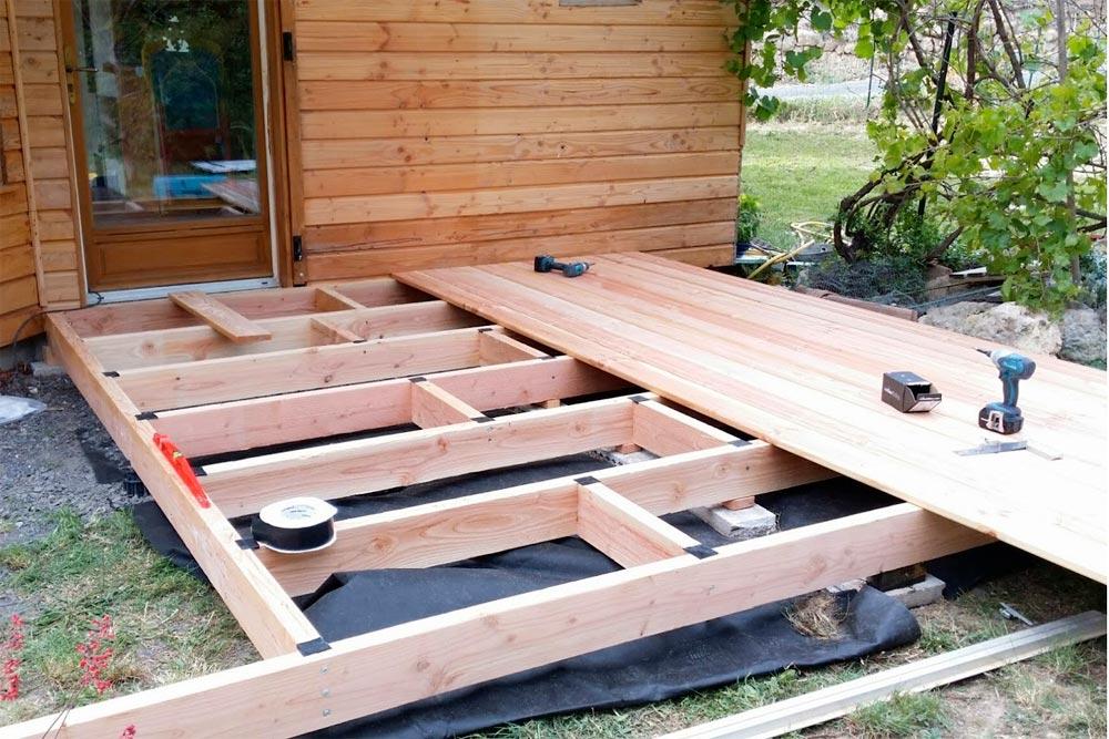 Terrasse bois construction