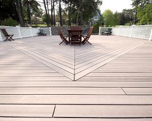 Terrasse carrelage parquet