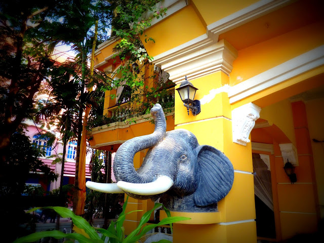 Terrasse des elephants hotel siem reap angkor