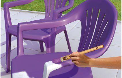 Restaurer un salon de jardin en plastique