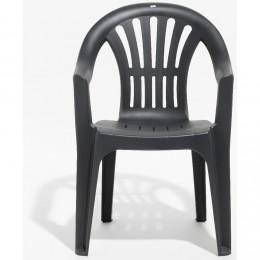 Chaise salon de jardin plastique vert - Mailleraye.fr jardin