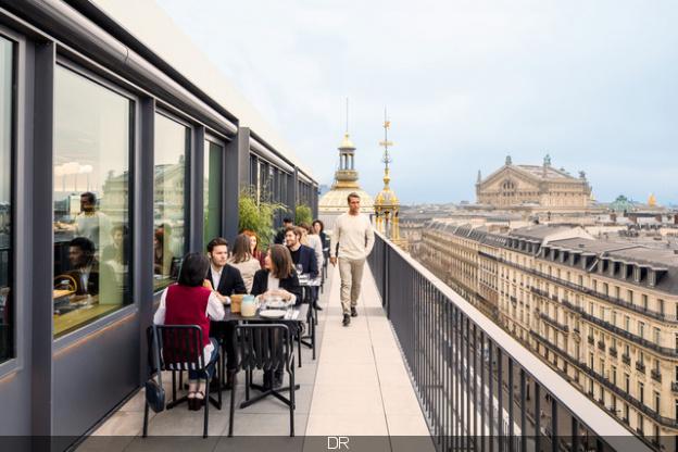 Bar terrasse du printemps paris