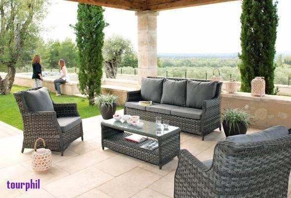 Salon de jardin kettler palma - Mailleraye.fr jardin