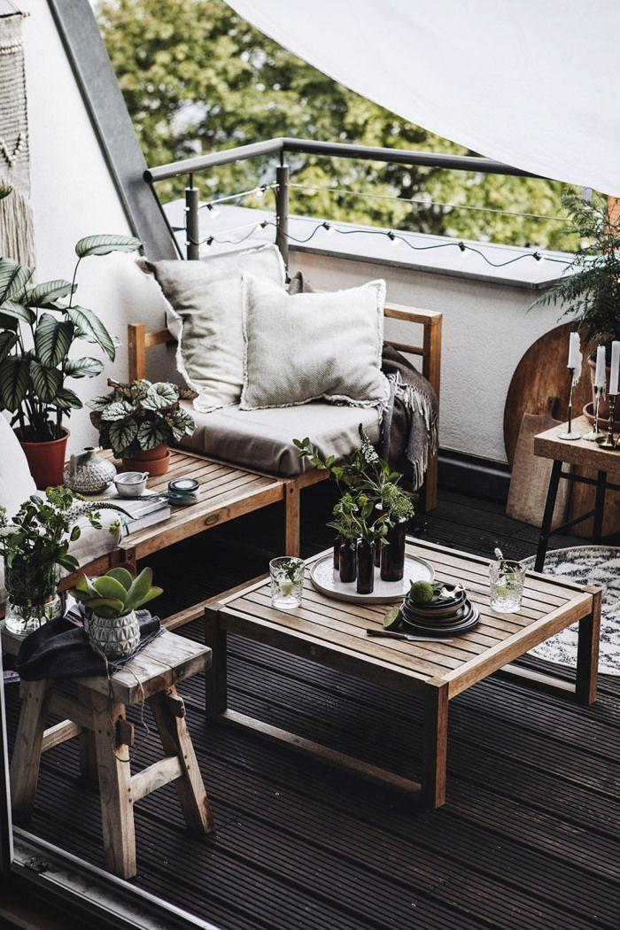 Terrasse appartement idee