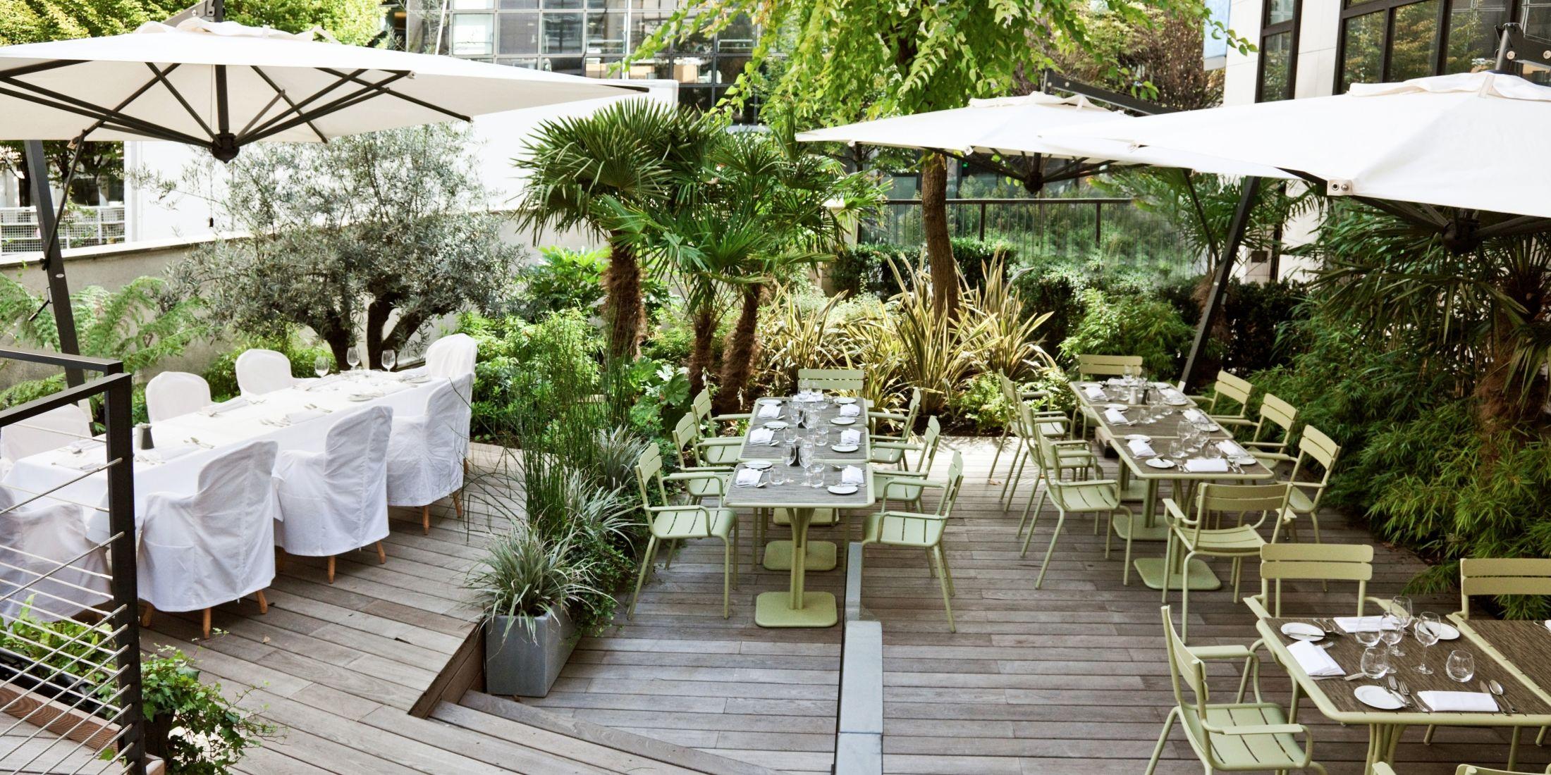 Hotel restaurant terrasse paris 8