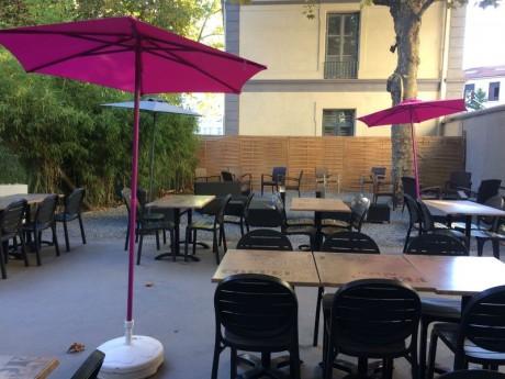 Café terrasse saint etienne