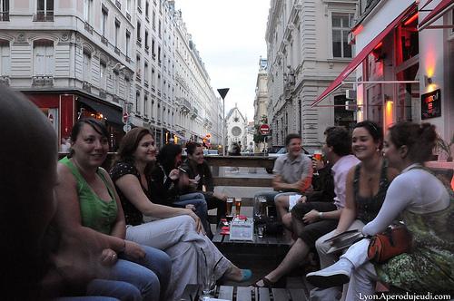 Bar terrasse sympa lyon