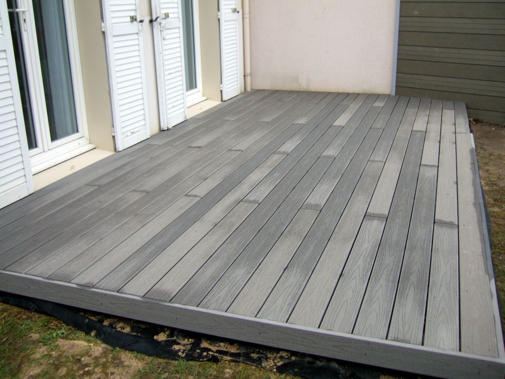 lame terrasse composite premium leroy merlin mailleraye. Black Bedroom Furniture Sets. Home Design Ideas
