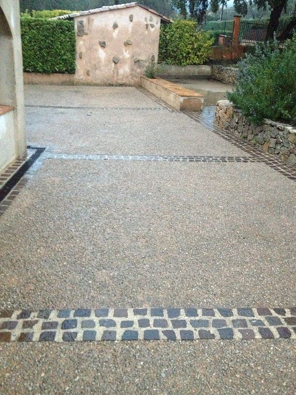 Terrasse beton design