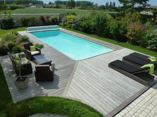 Dimension terrasse autour piscine