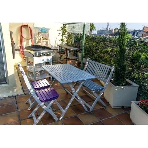 Salon de jardin en teck auchan - Mailleraye.fr jardin