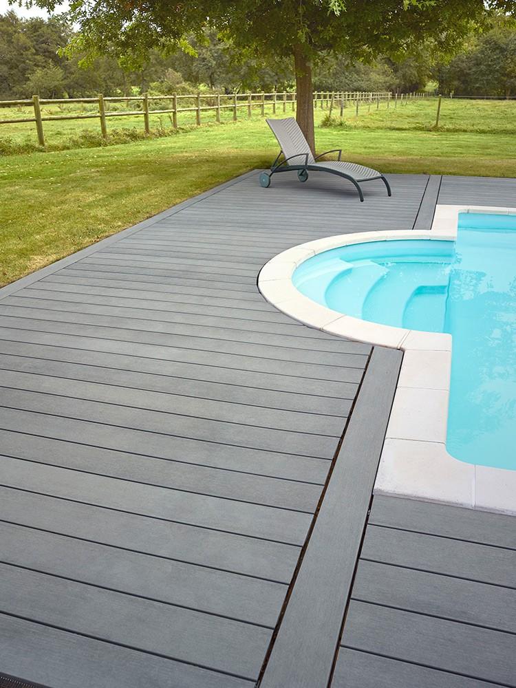 Terrasse composite vivre en bois