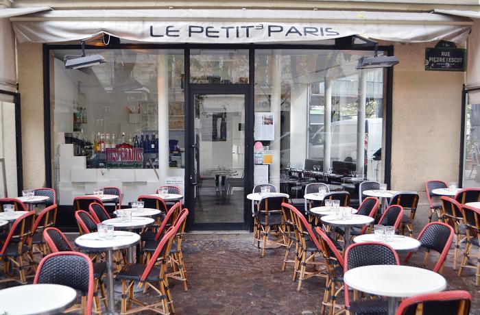 Bar terrasse etienne marcel