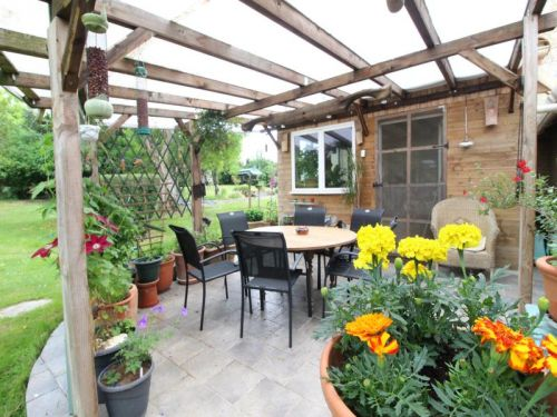 Terrasse couverte indépendante