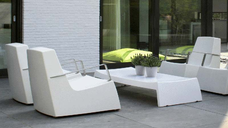 Awesome Salon De Jardin Moderne En Plastique Ideas   House Design