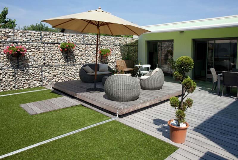 Petite Piscine Avec Terrasse Amovible Mailleraye Fr Jardin