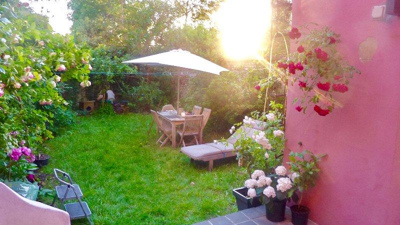 Terrasse et jardin location