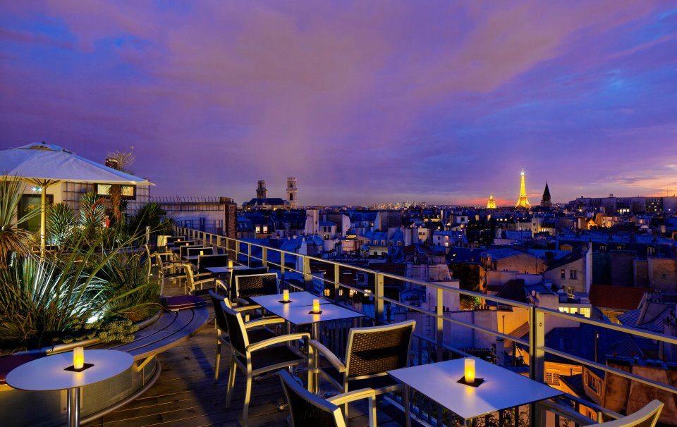 Bar terrasse ephemere paris
