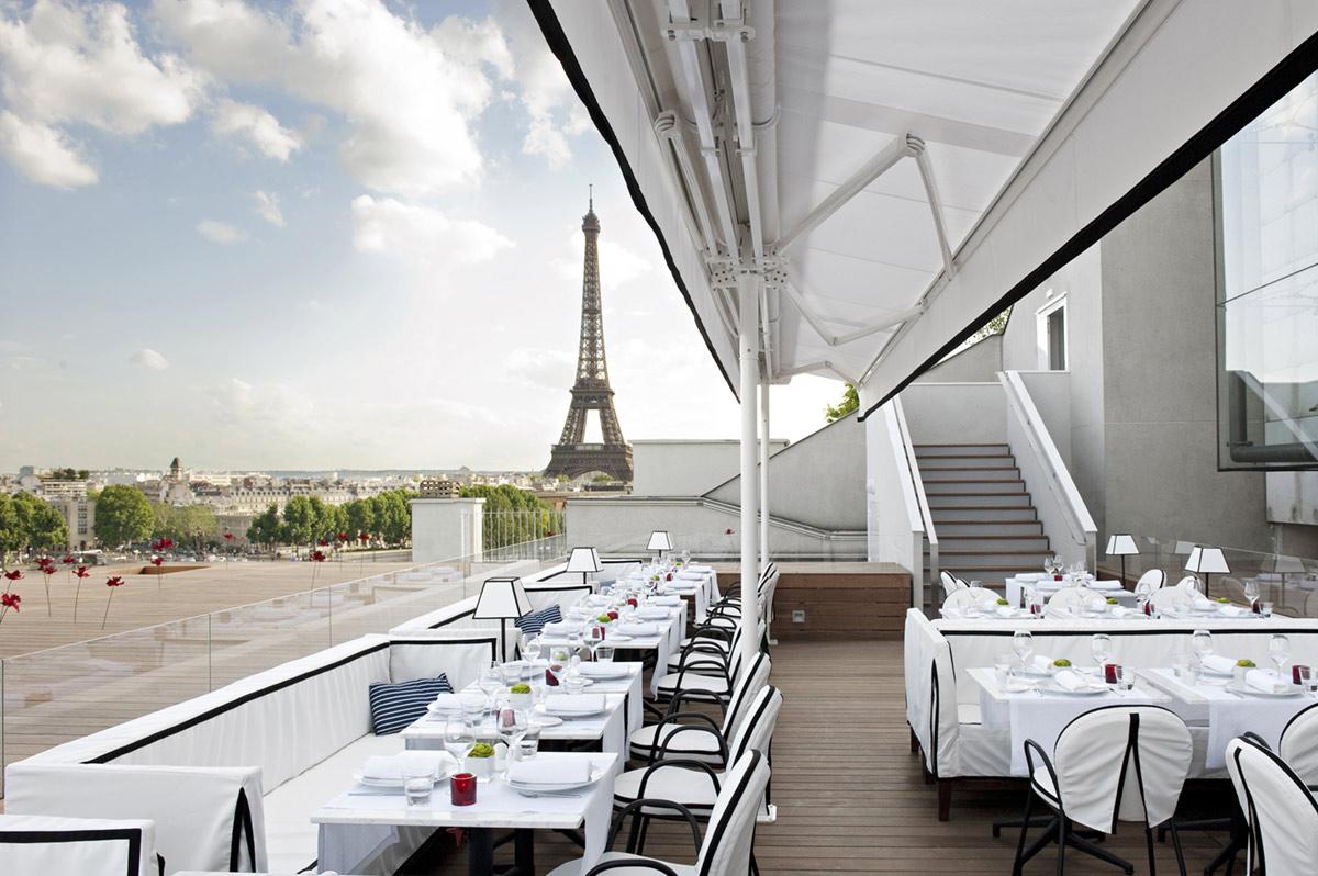 Restaurant terrasse tranquille paris