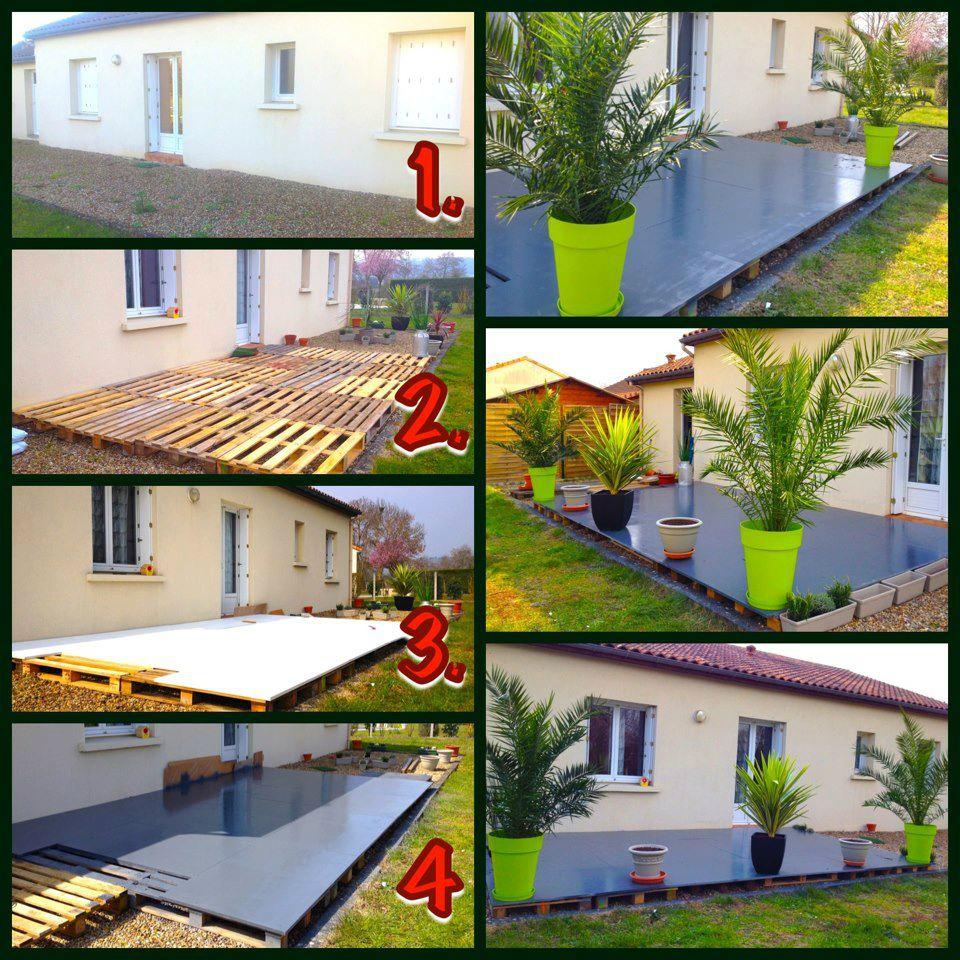 Decorer sa terrasse avec des palettes