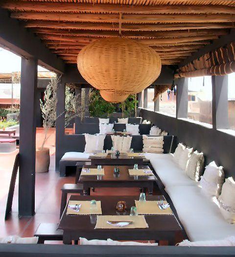 Terrasse café marrakech
