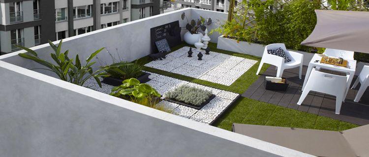 Terrasse zen design