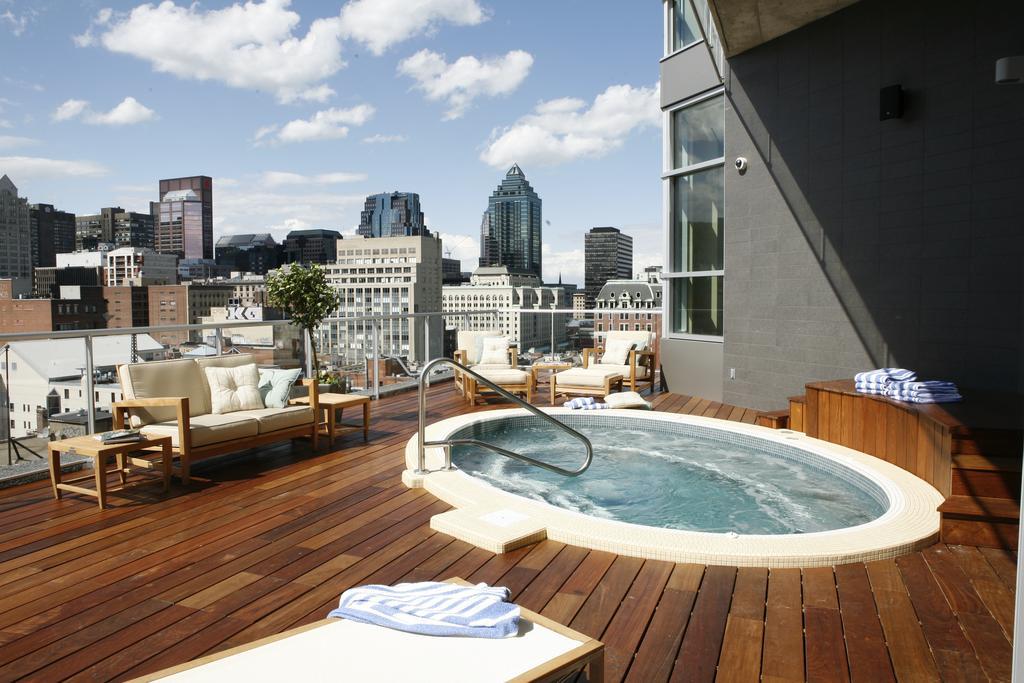 Terrasse hotel jacuzzi