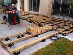 Construire Une Terrasse En Bois Sur Plot