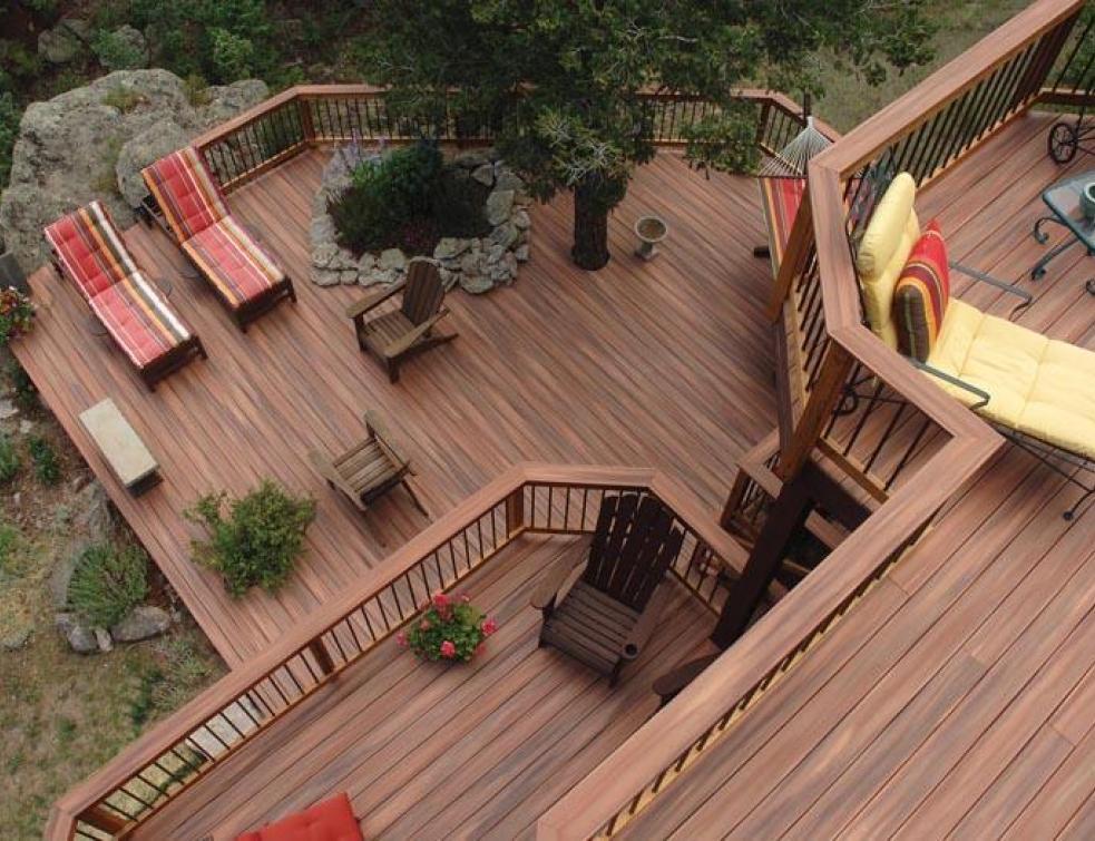Terrasse composite faible epaisseur