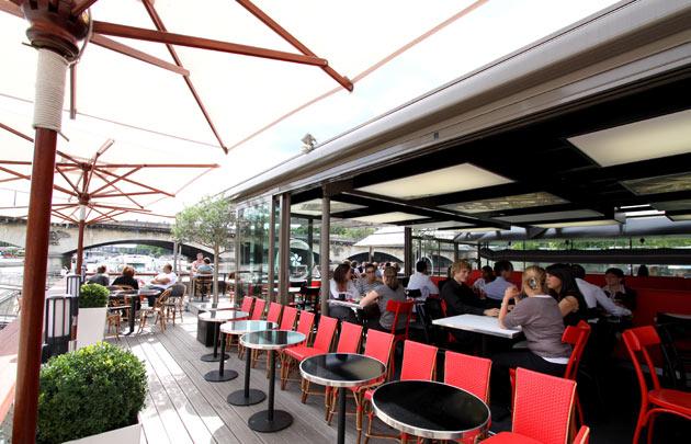 Restaurant terrasse paris famille
