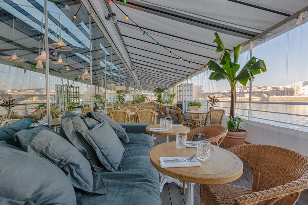 Restaurant terrasse verdure paris
