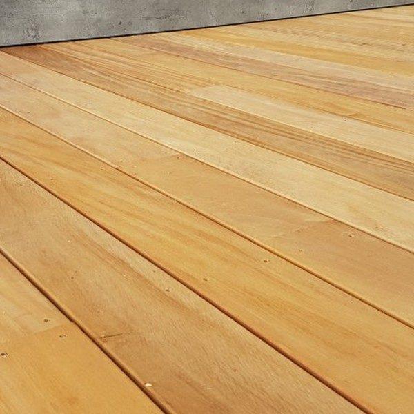 Terrasse bois vis apparente