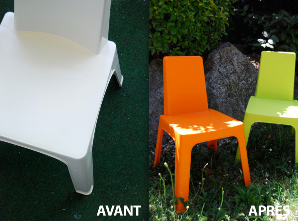 Customiser un salon de jardin en plastique - Mailleraye.fr ...